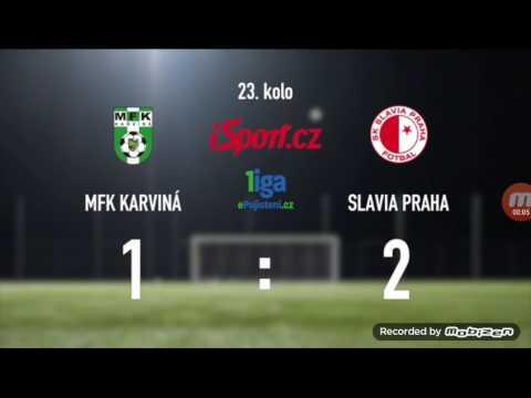 MFK Karviná Vs SK Slavia Praha