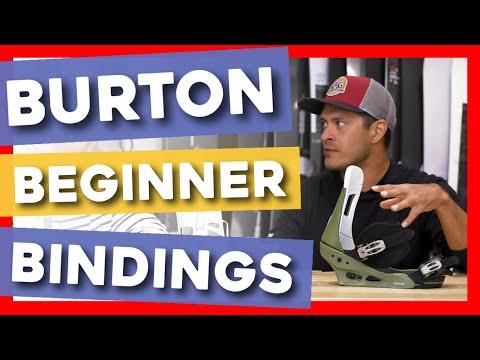 2020 Burton Beginner Snowboard Bindings Overview