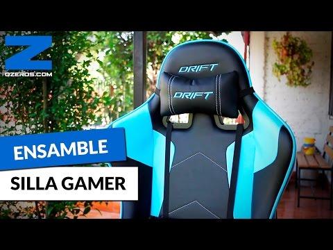 Unboxing y Ensamble de Silla Gamer Drift DR300