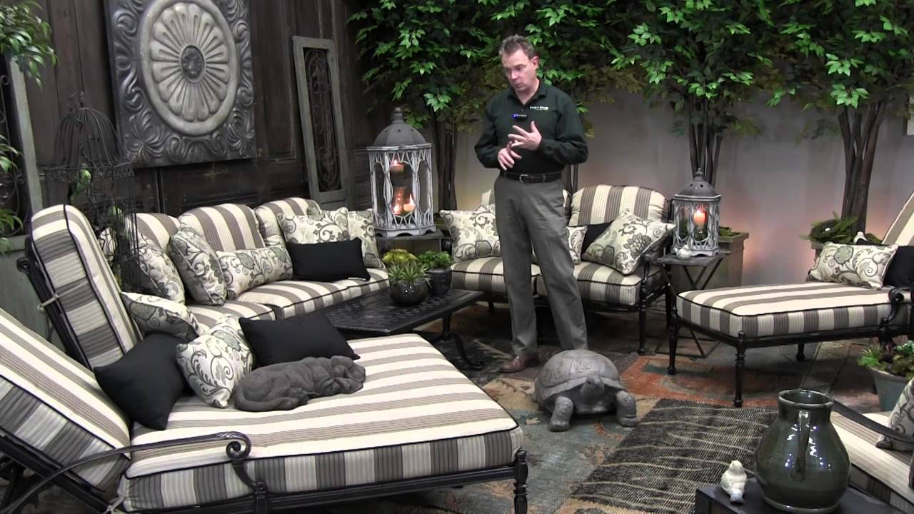 Gensun Grand Terrace Outdoor Furniture Overview   YouTube