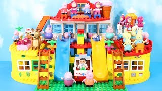 Lego Duplo Peppa Pig House Construction Set - Peppa Pig Legos Creations Toys For Kids #6