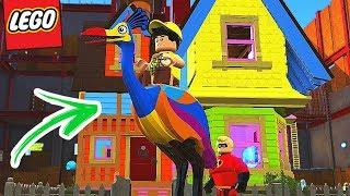 LEGO Os Incríveis - Up Altas Aventuras! 🎈 #4 EXTRAS (Gameplay em Português Dublado)