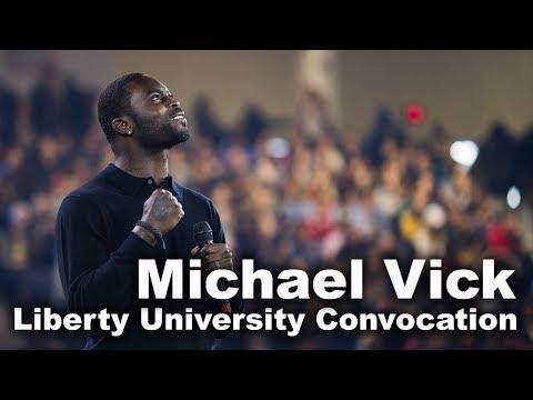 Michael Vick - Liberty University Convocation