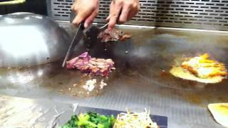 Teppanyaki cookin