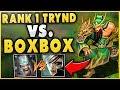 #1 TRYNDAMERE WORLD VS BOXBOX RIVEN! ULTIMATE BATTLE FT. YASSUO, TRICK2G - League of Legends