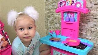 Детская кухня игрушка Май Литл Пони для детей Развлечение для детей Как мама готовим кушать