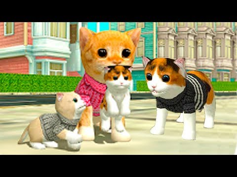 СИМУЛЯТОР Маленького КОТЕНКА #16 виртуальный питомец в мультяшной игре для детей #ПУРУМЧАТА