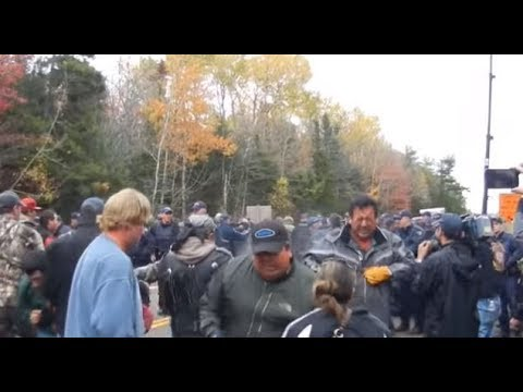 Shale gas protesters pepper sprayed by RCMP