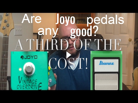 Broke Musician's Corner: Are Joyo Pedals Any Good? (Joyo Vintage Overdrive Review)