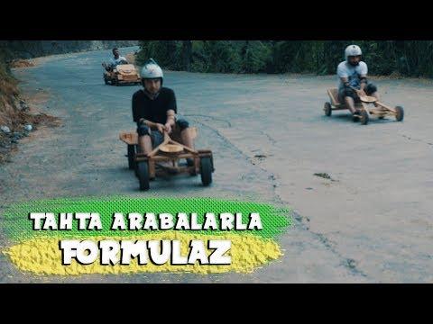 TAHTA ARABALARLA FORMULAZ YAPTIK!