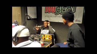 New Hodge World Freestyles- Lil Snupe freestyle and interview on 100.1 da beat in Monroe La
