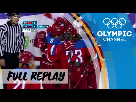Ice Hockey 🏒 | RE-LIVE | Turkey vs. Russia | European Youth Olympic Festival 2017