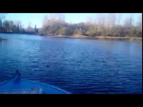 Нижняя Терсь конец сентября 2016. В малую воду.