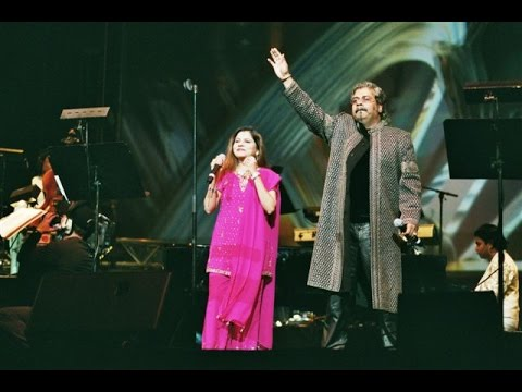 Playback Singer Hariharan and Sadhna Sargam Chanda Re Chanda Re Live Performance