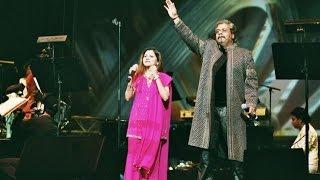 Playback Singer Hariharan and Sadhna Sargam Chanda Re Chanda Re Live Performance