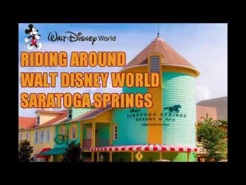 Riding Around Disney World's Saratoga Springs Resort