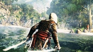 Assassin's Creed 4 - A Pirate Trained by Assassins (Music Video) Slow Motion Combat & Parkour