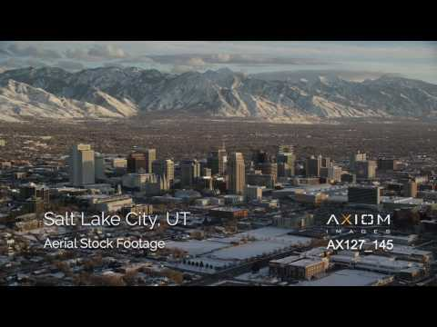 Salt Lake City Aerial Footage
