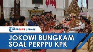 Ketika Jokowi 'Melirik' saat Ditanya soal Perppu KPK, Ketua MPR Bambang Soesatyo yang Pasang Badan