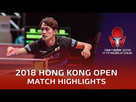 2018 Hong Kong Open Highlights | Ruwen Filus vs Kazuhiro Yoshimura (R16)