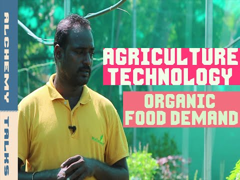 """Startup Agriculture Technology for your Healthy Organic Food Demand""_♥ Alchemy Talks, India"
