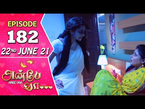 Anbe Vaa Serial | Episode 182 | 22nd June 2021 | Virat | Delna Davis | Saregama TV Shows Tamil