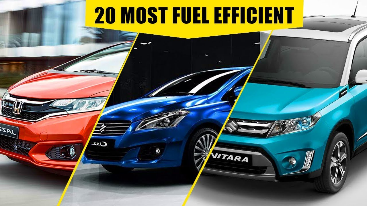 top 20 most fuel efficient cars in india fuel efficient cars 2017 youtube. Black Bedroom Furniture Sets. Home Design Ideas
