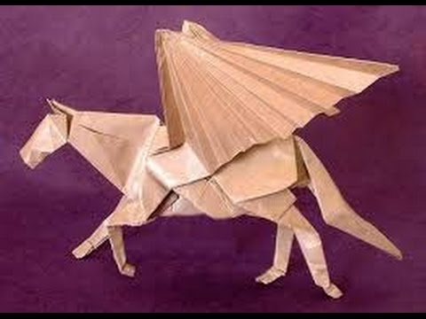 How To Make Origami How To Make Origami Pegasus The Flying Horse