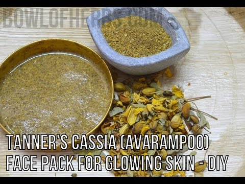 Avarampoo Face Pack for Glowing skin - Beauty Remedy | Bowl of Herbs