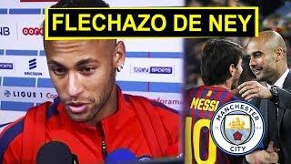Neymar se destapó contra el Barca | Manchester responde al fichaje de MESSI