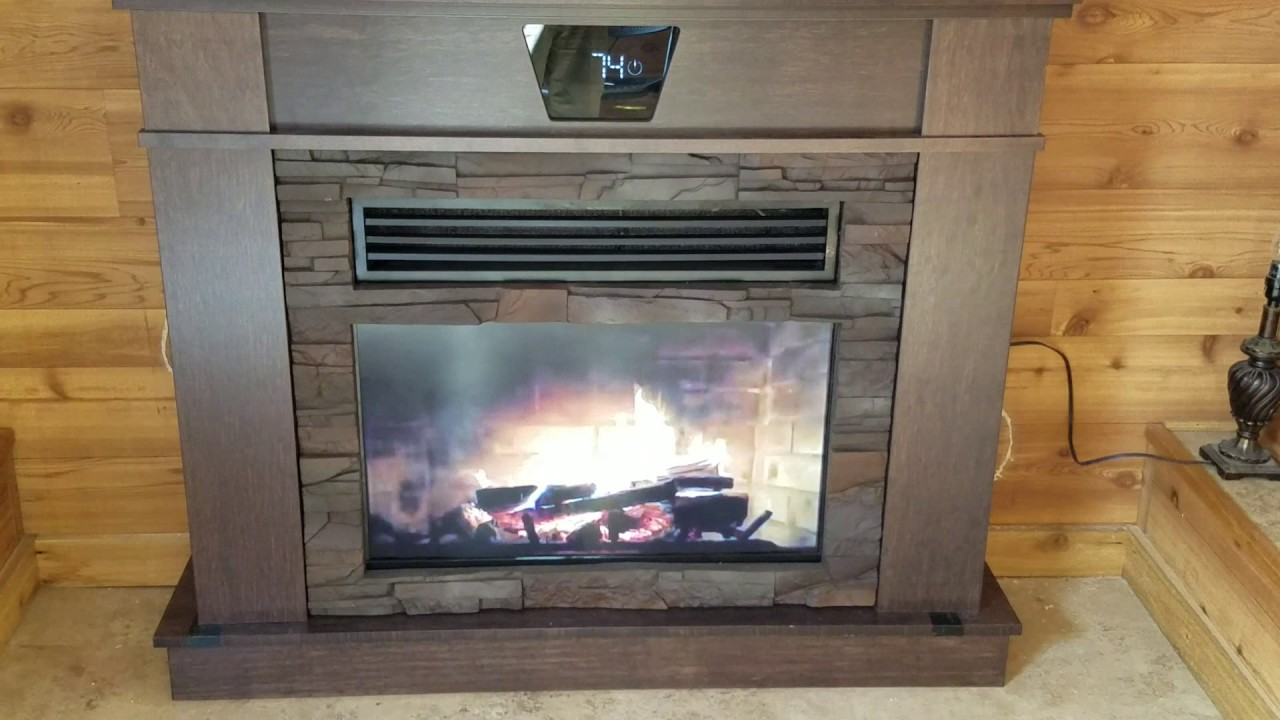 one cool fireplace by aqua zone comfort youtube