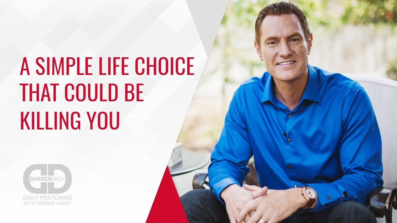 A Simple Life Choice That Could Be Killing You