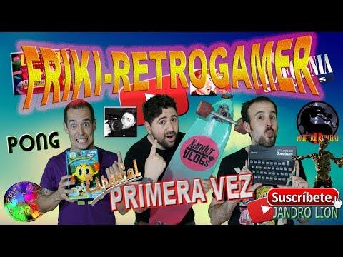 "Friki-Retrogamer Especial ""Primera Vez"" Junto A Xander Vlogs. #frikiretrogamer #FRG #jandrolion"