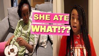 SHE ATE WHAT!??? ( KIDS SKIT)
