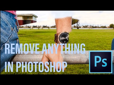 How to Remove objects and people in Photoshop