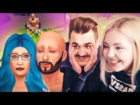 Играем с Юликом в Sims 4 - Джиган , Гобзавр и Бима.