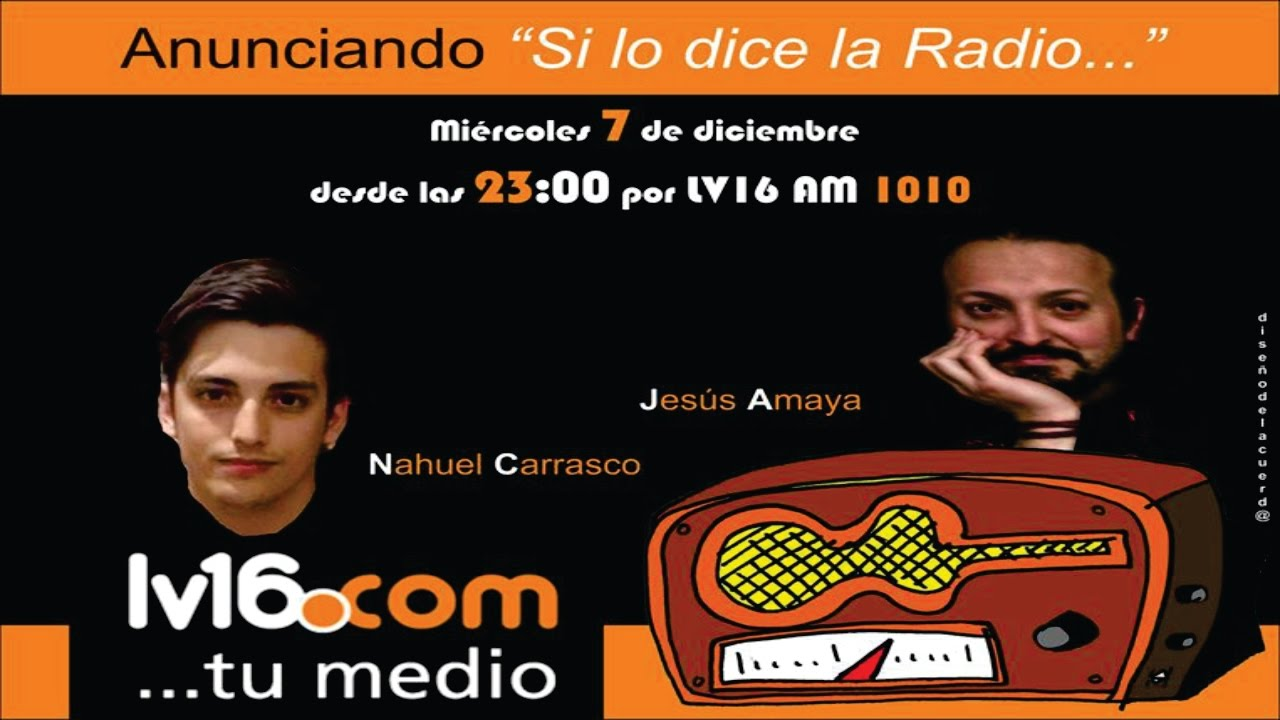 Nota a Jesús Amaya con Nahuel Carrasco en Radio Río Cuarto... - YouTube