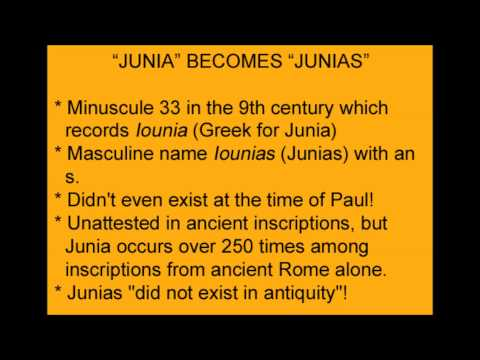 Junia the Female Apostle