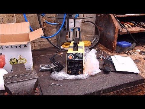 Review of the Banggood ARC-250 inverter stick welder - 220V 50/60 Hz