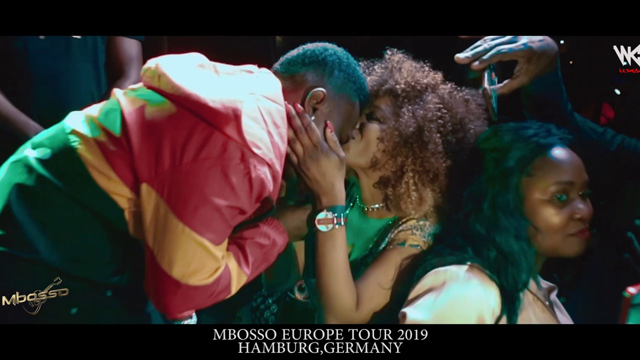 Mbosso live performance; Hamburg Germany ( Europe tour 2019 )