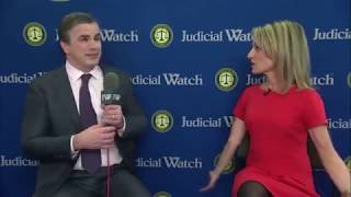 Tom Fitton @ CPAC2018: Clinton-Funded Anti-Trump Dossier Created w/ Russian Intel!