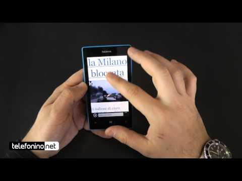 Nokia Lumia 520 videoreview da Telefonino.net