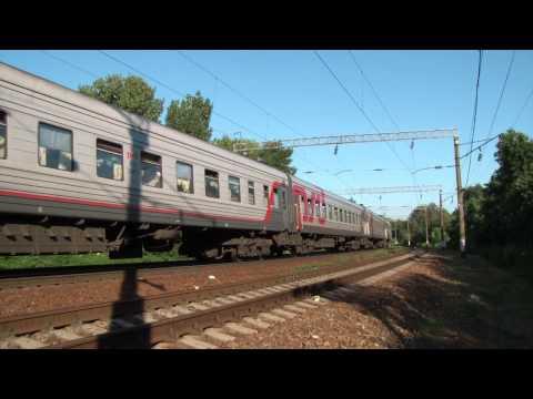ЭП1М-568 с поездом №198 Иркутск — Кисловодск