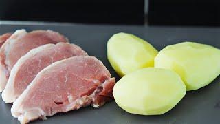 Картошка Мясо Супер ужин 3 Рецепта с мясом и картошкой
