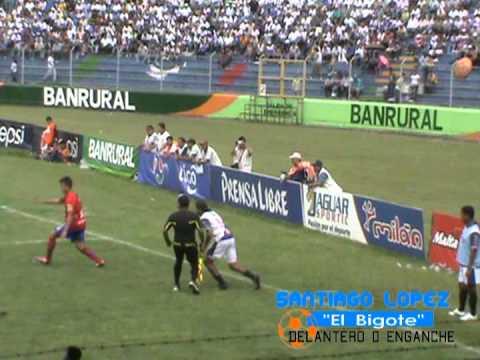 "Santiago ""bigote"" Lopez goles guatemala"