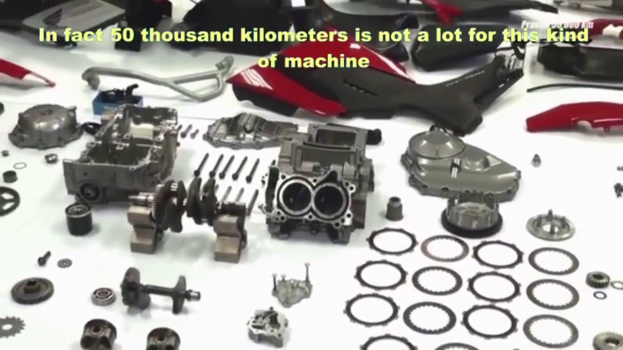 Honda Nc750x 50k Kilometer Test Now Subtitled In English Youtube