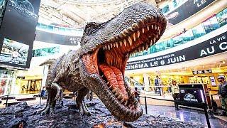 Un DINOSAURE à Paris!! (Jurassic World 2, 2018)