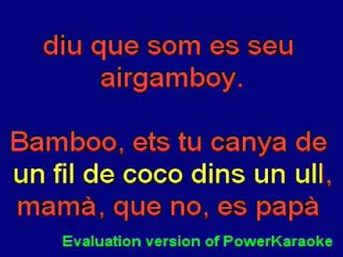 ANTONIA FONT - Karaoke - Bamboo