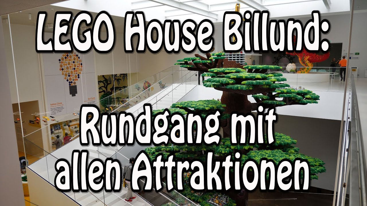 Lego House Billund Tour Rundgang Attraktionen Infos Home Of The