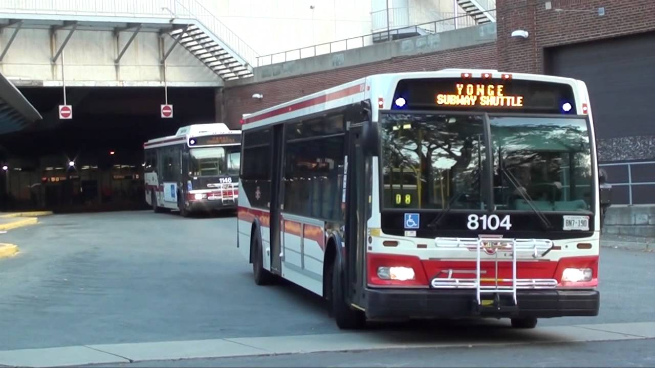 TTC - Eglinton Station Bus Terminal | Compilation Video #2 ...